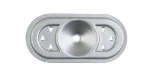 Placchetta ovale SP 8240 serie b con graffe