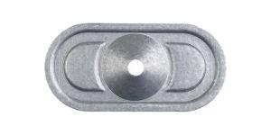 Placchetta ovale SP 8240 serie d centro depresso