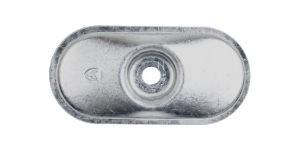 Placchetta ovale SP 8240 serie f centro bombata