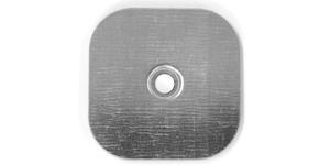 Placchetta quadrata 70x70 mm serie S piatta